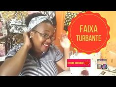 Faixa Turbante Aula ao Vivo#20 - YouTube Vivo, Baseball Cards, Facebook, Instagram, Youtube, Retail, Sash Belts, Creative, Living Alone