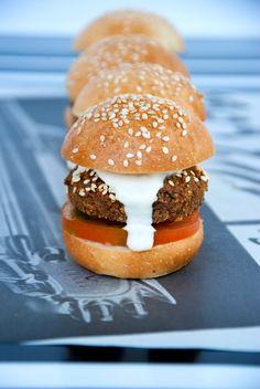 Falafel Sliders .. Authentic #Arabic Food