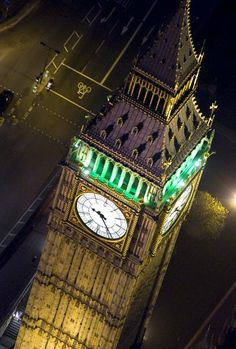 Big Ben, London. The most recognized clock  in the world.