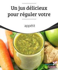 Un #jus délicieux pour réguler votre #appétit Dans cet article, nous allons partager avec vous la #recette d'un délicieux jus de #carotte, de persil, de #pomme et de concombre, qui constitue un soutien idéal pour tout régime amincissant.