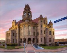 The Wise County Courthouse, seated in Decatur, Texas, was completed in 1897 and is the fourth courthouse constructed in the county. The third courthouse was destroyed by a fire in January 1895.  The courthouse is based on the cruciform plan and the Romanesque Revival architectural style.