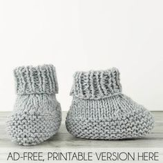 Baby Booties Knitting Pattern Free knitting pattern for easy Flat Knit Baby Booties.Free knitting pattern for easy Flat Knit Baby Booties. Knitting For Charity, Knitting For Kids, Free Knitting, Knitting Socks, Knitted Baby Boots, Baby Booties Knitting Pattern, Crochet Baby Booties, Baby Boots Pattern, Knit Baby Shoes