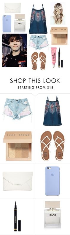 """""""Aquarium date with Tae"""" by bts-outfit-imagines ❤ liked on Polyvore featuring Alexander Wang, Monsoon, Bobbi Brown Cosmetics, Billabong, Style & Co., Yves Saint Laurent and Bella Freud"""