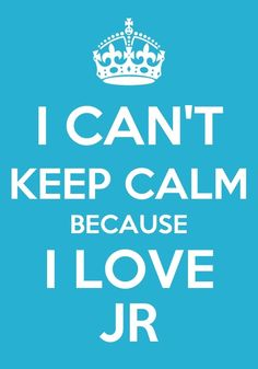 I CAN'T KEEP CALM BECAUSE I LOVE JR FROM NU'EST!!!