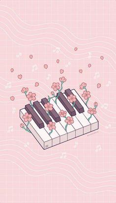 Soft Wallpaper, Aesthetic Pastel Wallpaper, Cute Anime Wallpaper, Cute Cartoon Wallpapers, Animes Wallpapers, Aesthetic Wallpapers, Art Kawaii, Arte Do Kawaii, Cute Kawaii Drawings