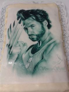 This is my birthday cake ...OMG...I love him..WOLVERINE
