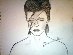 David Bowie sketch :-)