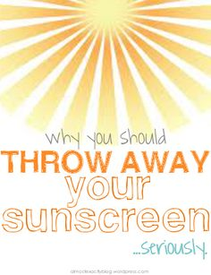 whyyoushouldthrowawayyoursunscreen. This is an awesome article with 3 great diy natural sunscreen recipes!