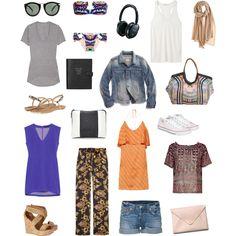 Thailand Packing List by vivcarmona