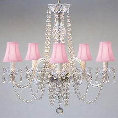 This unique version from the Royal Collection features crystal tube arms is decorated with 100% crystal that capture and reflect the light of the candle bulbs, each resting in a scalloped bobache.The timeless elegance of this chandelier is sure to lend a special atmosphere anywhere it is placed! | eBay!