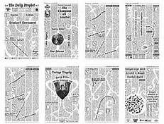 harry potter daily prophet printable - Bing Images