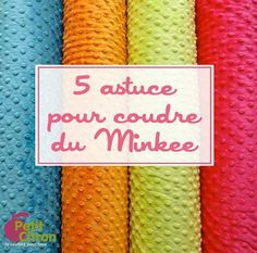Astuces de couture par tissu | astuce | Blog de Petit Citron