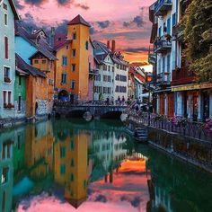 Annecy - France...  Stunning shot!