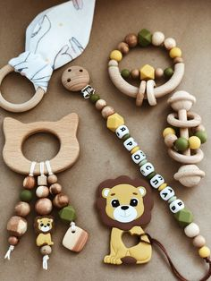 Baby Shower Gifts, Baby Gifts, Crochet Baby Bibs, Wooden Baby Toys, Baby Bling, Newborn Toys, Pacifier Clips, Baby Box, Autumn Crafts