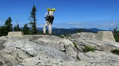 Hiking the Speckled Mountain and Haystack Notch Loop - http://sectionhiker.com/hiking-the-speckled-mountain-and-the-haystack-notch-loop/