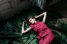 Boüret CocoLizzie Fall For You, Dresses, Fashion, Silhouette, Hot Pink, Long Dresses, Summer, Wedding, Photos