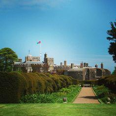 #park of #walmer #castle #walmercastle in #Dover #kent #england #britain #uk