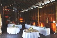 How beautiful is this venue! It seems rather small, but the pictures from this wedding are spectacular