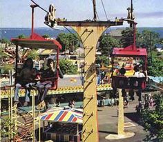 Rocky Point Amusement Park 1970 --- with music!!