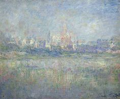 Vétheuil in the Fog (1879) / by Claude Monet