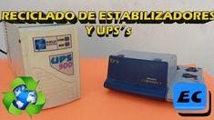 Que se puede hacer con un estabilizador o UPS viejo o roto, reciclado
