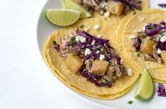Pineapple Jerk Chicken Tacos