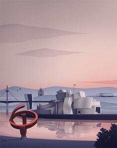 Bilbao - Thomas Danthony Illustration