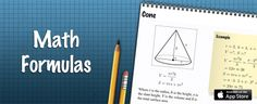 Math Formulas app