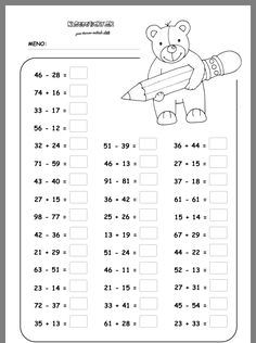 Math Addition Worksheets, Math Practice Worksheets, First Grade Math Worksheets, School Worksheets, Math Sheets, Math Journals, Math Facts, Math For Kids, Math Lessons