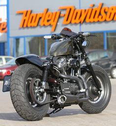 Harley-Davidson Sportster Cafe Racer Kit by Thunderbike now available