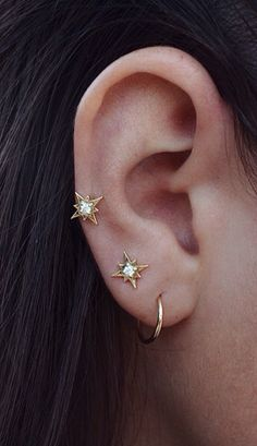 Starry Night Earrings // buy here and here