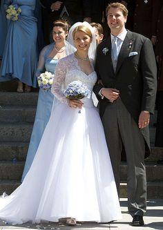 mariages princiers : Kelly et Hubertus de Saxe-Cobourg