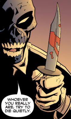 "fandomexplorer: ""As entertainment value goes, Black Mask is up there "" Batman Universe, Universe Art, Comics Universe, Black Mask Comics, Roman Sionis, Old Comics, Masks Art, Dc Characters, Comic Movies"