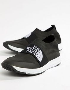 1d9eac4b8 Image 1 of The North Face NSE Traction Knit Moc Sock Trainers in Black The  North