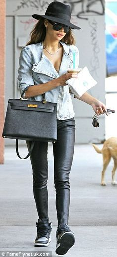 Naya Rivera steps out for coffee in Los Feliz sporting the diamond necklace bought for her by ex-fiance Big Sean