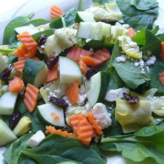 Seasonal Greens Salad - Pizza My Heart - Zmenu, The Most Comprehensive Menu With Photos