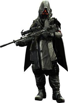 Helghast Sniper