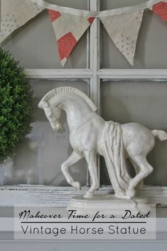 White faux stone or marble horse statue Cool Tattoos Pictures, Picture Tattoos, Abstract Sculpture, Wood Sculpture, Metal Sculptures, Bronze Sculpture, Wax Statue, Vintage Horse, Crystal Nails