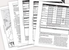 Extra Science C Student Activity Sheets