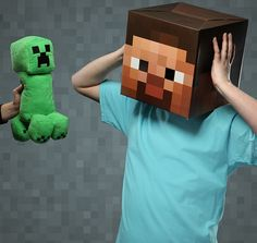 Minecraft Creeper Plush Toy With Noise – The Monster Just Got Cute ...