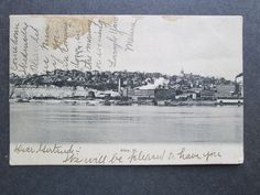 A075 Alton Illinois IL Along The Mississippi River 1907 | Collectibles, Postcards, US States, Cities & Towns | eBay!