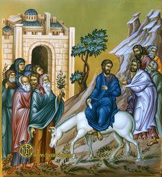 Biggest Icon on the World; Byzantine Icons, Byzantine Art, Raising Of Lazarus, Greek Icons, The Transfiguration, Palm Sunday, Jesus Is Lord, Orthodox Icons, Bible Art