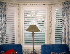 Here is a recent Danmer custom shutter installation for a living room bay window. These custom shutters perfectly match the design and decor of this home. Interior Shutters, Window Treatments, Decor, Custom Shutters, Bay Window, Windows, Interior, Bath Renovation, Shutter Window Treatments