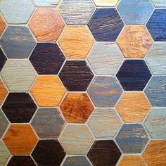 reclaimed wood hex tiles from walker zanger