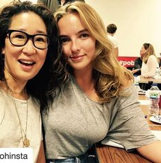 Wendy Oh and Jodie Comer