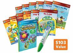 LeapReader Get Ready for Kindergarten Super Bundle #LeapFrogWishList