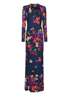 Flowery maxi-dress by MANGO