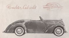 SKODA 420 Cabriolet Car Advertising, Old Signs, Car Car, Old Cars, Volvo, Techno, Antique Cars, Classic Cars, Vehicles