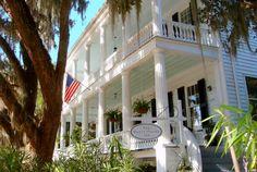 The Rhett House Inn, Beaufort, SC - beautiful! #travel