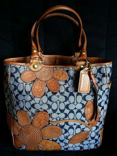 I LOVE this bag!  I have never seen a  Coach bag quite like this.  (IMG ONLY)